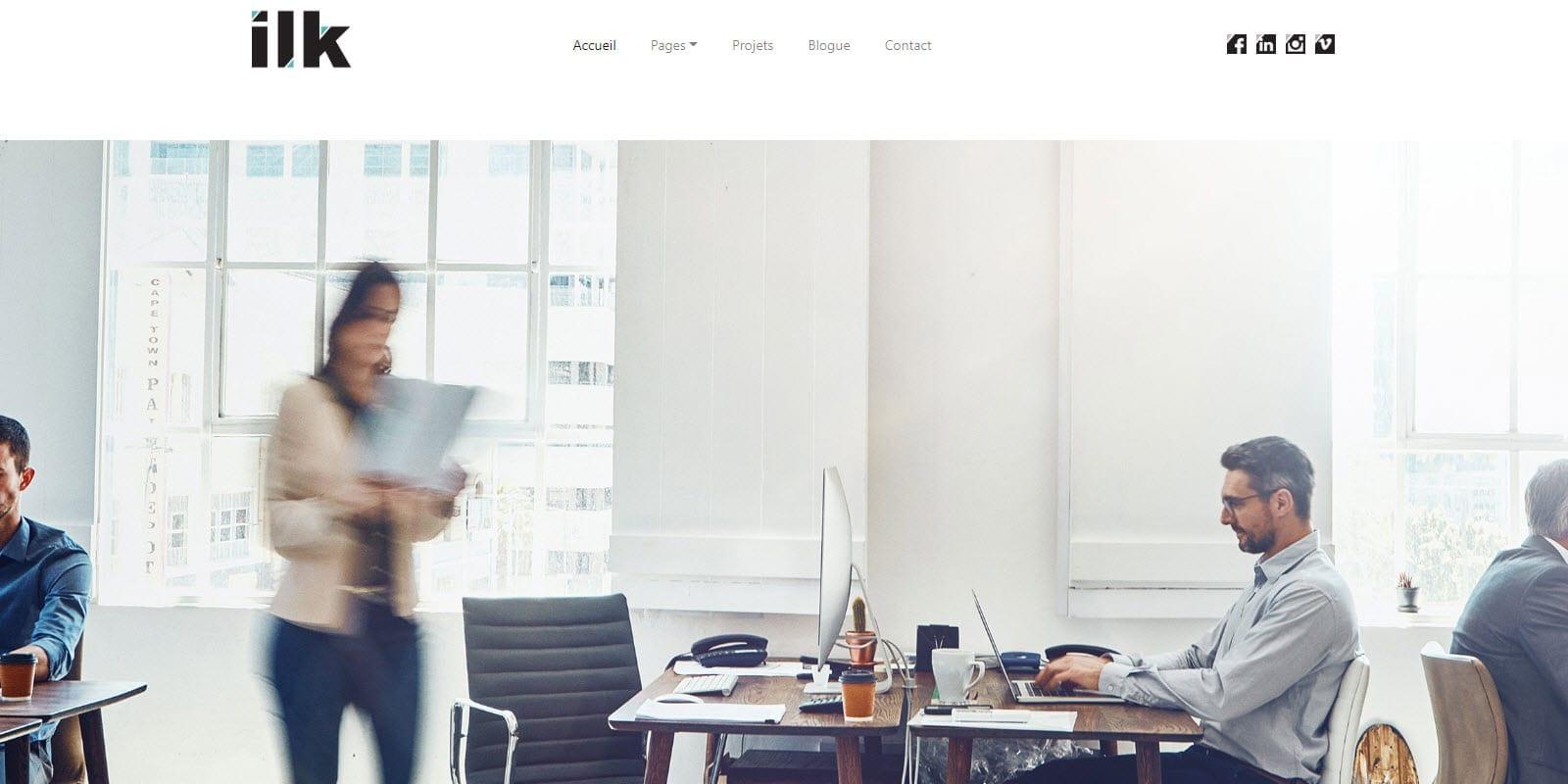 Thème WordPress : « ilk »